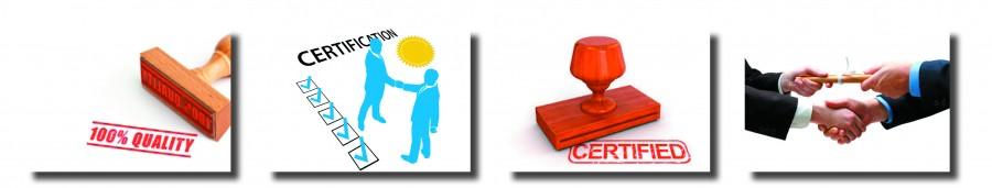 L'Entreprise : Nos Certifications