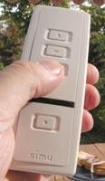 volet-telecommande-blanche